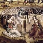 Thesee et le Minotaure d'ou Ariane